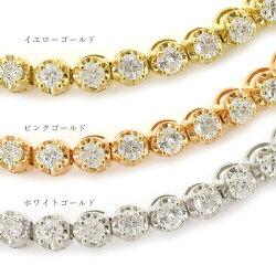 限界価格に挑戦光り輝く1.00ct一連ダイヤモンドブレスレット※割引対象外新作