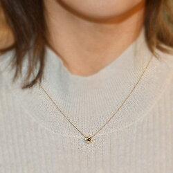 ラグーングリーントルマリンxローズカットダイヤペンダントトップ「カテーナ」K10・K18対応※金種により金額が異なります。誕生石4月10月