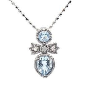 アクアマリン×ローズカットダイヤモンドペンダントトップ「レガーレ」K10・K18対応※金種により金額が異なります。※K18はご注文確認後、金額修正いたします。誕生石 3月 4月 ホワイトデー ギフト