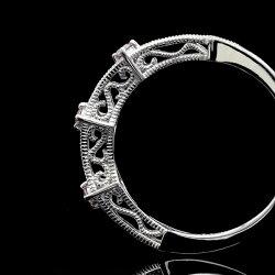 PT900アーガイル鉱山産ピンクダイヤモンドリング「ひとめぼれ」誕生石4月