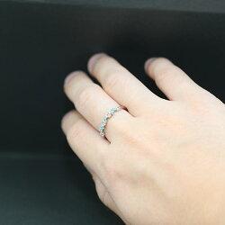 PT900パライバトルマリン×アーガイル産ピンクダイヤモンドリング誕生石10月