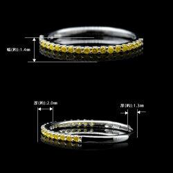 ゴールデンダイヤモンド究極のストレートリング新作K18、K10金種対応※K18の場合には金額変動がございます購入後金額訂正してご連絡致します誕生石4月