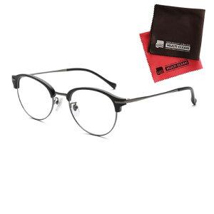 老眼鏡 ピントグラス 小松貿易 PINT GLASSES PG-112L-MBK 男性用 軽度レンズモデル(老眼度数:+1.75D〜+0.0D) (クロスセット)