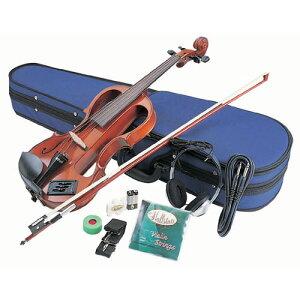 バイオリン ヴァイオリン 弓 弦 ケース 初心者 セット 楽器 EV30 カラー3色 電子バイオリン エレキバイオリン ハルシュタット(ラッピング不可)(みつはぴ)