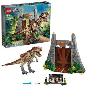 【流通限定商品】レゴ (LEGO) ジュラシック・ワールド ジュラシック・パーク: T-レックスが大暴れ 75936 || おもちゃ 玩具 ブロック 男の子 恐竜 フィギュア キャラクター 映画 プレゼント ギフ