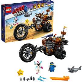 【レゴ(R)認定販売店】レゴ (LEGO) レゴムービー ロボヒゲのヘビーメタル・モータートライク 70834