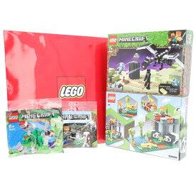 【レゴ(R)認定販売店】レゴ (LEGO) サマーハッピーバッグ マインクラフト ブロック おもちゃ 室内 おうち時間