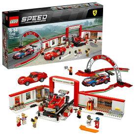 【レゴ(R)認定販売店】レゴ (LEGO) スピードチャンピオン フェラーリ・アルティメット・ガレージ 75889