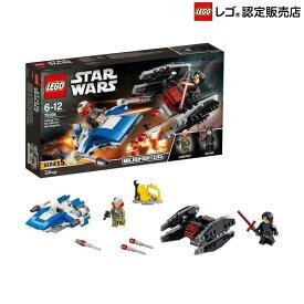 【レゴ(R)認定販売店】レゴ (LEGO) スター・ウォーズ A-ウィング vs. TIE サイレンサー マイクロファイター 75196