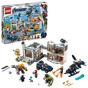 【レゴ(R)認定販売店】レゴ (LEGO) スーパー・ヒーローズ アベンジャーズ・コンパウンドでの戦い 76131 ブロック おもちゃ 室内 おうち時間