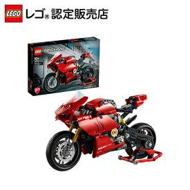 【レゴ(R)認定販売店】レゴ (LEGO) テクニック ドゥカティ パニガーレ V4 R 42107 || おもちゃ 玩具 ブロック 男の子 女の子 おうち時間 大人 オトナレゴ インテリア ディスプレイ 車 モデルカー ホビー 模型 のりもの バイク Ducati プレゼント ギフト 誕生日 クリスマス