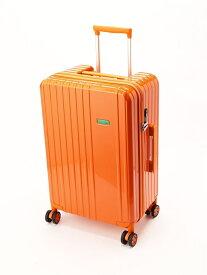 [Rakuten Fashion]【SALE/30%OFF】(W)ベネトンカラフルキャリーバッグ・スーツケースM(容量約51L) BENETTON (UNITED COLORS OF BENETTON) ベネトン(ユナイテッド カラーズ オブ ベネトン) バッグ キャリーバッグ オレンジ グリーン 【RBA_E】【送料無料】