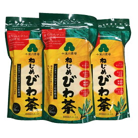 ねじめ びわ茶24ティーバッグ24包入×3袋セット十津川農場 ビワ茶 枇杷茶