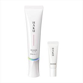 【メラノフォーカスV特製サイズ 6g付!】HAKU 薬用 美白美容液ファンデ 限定セットa オークル10(やや明るめの肌色 )