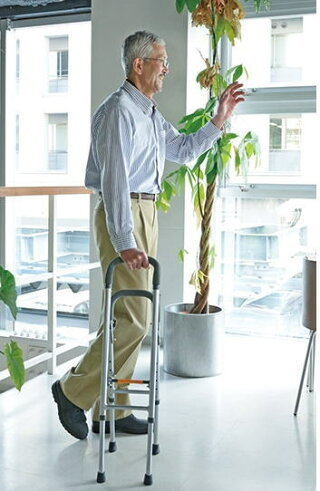 【非課税】コンパクトサイドケインHKS01テイコブ幸和製作所折りたたみ可能送料無料杖代わり歩行補助リハビリ