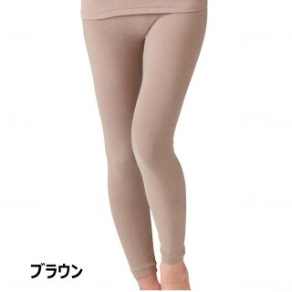 [婦人用ボトムインナー・フリーサイズ]天然泥パックインナー婦人ボトムラック産業ズボン下ももひき敏感肌乾燥肌保湿抗菌活酸素除去肌着下着秋冬用あたたかい