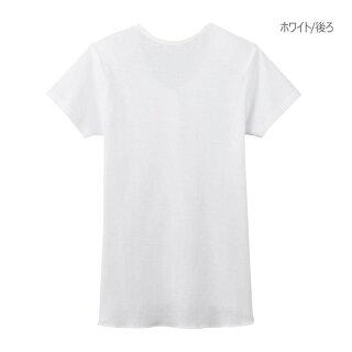 [婦人用・S〜Lサイズ]グンゼ女性用愛情らくらく3分袖クリップインナーシャツSサイズMサイズLサイズ(HW0138)介護入院用前開き肌着下着レディース半袖シャツ病院着替えマジックテープ