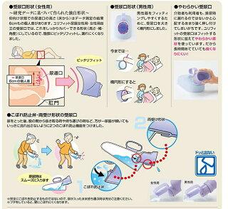 排泄介護用品ユリフィット尿器女性用(アロン化成)