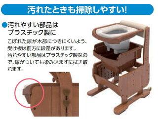 家具調ポータブルトイレセレクトR自動ラップタイプノーマル暖房便座(品番533-942)専用フィルムカセットと専用凝固剤をセットでプレゼントアロン化成安寿介護トイレあたたか暖房便座タイプ