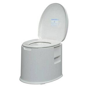 樹脂製 ポータブルトイレTP-420V ホワイト アイリスオーヤマ 介護用トイレ 腰掛便座 トイレ補助 おまる 高齢者 老人 シニア 自活【送料無料】