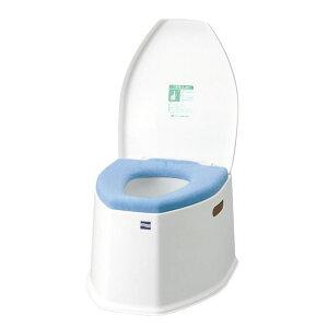 アロン化成  安寿 ポータブルトイレSP O型便座カバー付き  低座面タイプ(533-222) 介護用トイレ トイレ補助 高齢者 樹脂製 最大使用者体重100kg バケツ容量12L【送料無料】
