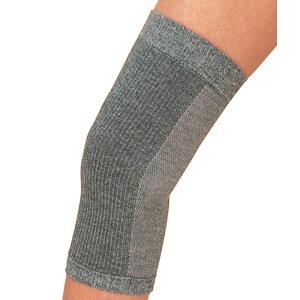 膝用サポーター  備長炭メッシュひざサポーター 2枚組 4931 ビビエルボ グレー フリーサイズ 【父の日】