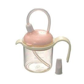 寝たまま飲める「ストロー付きカップ」220ml 浅井商事介護用品 自助具 吸い飲み 老人 高齢者 薬 介助 軽量 食事補助