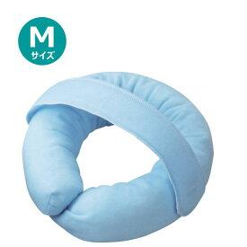 【クーポン配布中】【床ずれ防止品】通気ビーズパッド ベルト付き ブルー M 大阪エンゼル