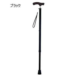 夢ライフステッキスリムネックタイプ伸縮型ベーシックタイプウェルファン一本杖タイプ杖先替えゴム付送料無料プレゼント軽量杖※折り畳み不可