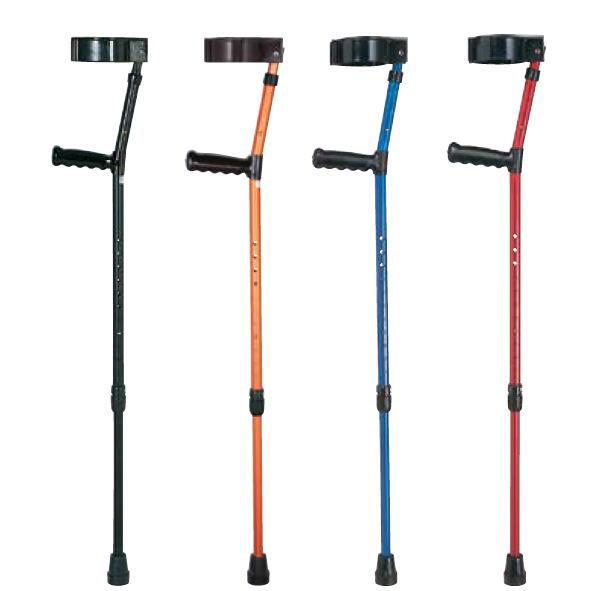 【非課税】ロフストランドクラッチ (TY132) アルミ製 大/小 日進医療器 杖 ステッキ 歩行 つえ リハビリ用 コンパクト スモールサイズ 子供用