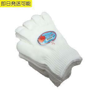 軍手 フィットグローブ 12双組 10ゲージ 2本編み 低発塵 ウーリー糸 軽作業 作業手袋