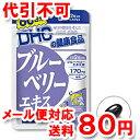 DHC 60日分 ブルーベリーエキス 120粒 【ゆうメール送料80円】