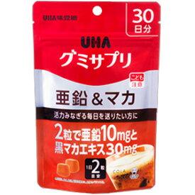 UHA味覚糖 グミサプリ 亜鉛&マカ 30日分 60粒
