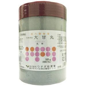 【第2類医薬品】 ウチダの大甘丸 500g 大黄甘草湯 だいおうかんぞうとう ダイオウカンゾウトウ あす楽対応