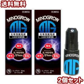【第1類医薬品】ミノグロウ 60ml×2個セット