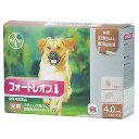 【動物用医薬品】 フォートレオン 4.0mL 32kg〜40kg 1箱3ピペット 犬用