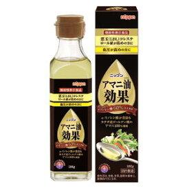 アマニ油プレミアムリッチ 186g 亜麻仁油 日本製粉 □