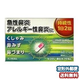 【第(2)類医薬品】 新ビスティー鼻炎カプセルL 48カプセル メール便送料無料