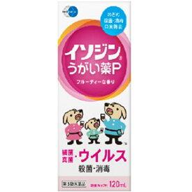 【第3類医薬品】 イソジン うがい薬P 120ml