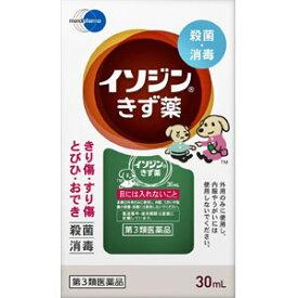 【第3類医薬品】 イソジン きず薬 30ml