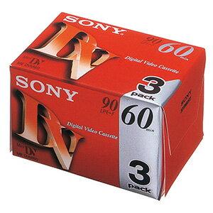ソニー ミニDVカセット 3DVM60R3 (3本入)