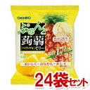 オリヒロ ぷるんと蒟蒻ゼリー パウチ パイナップル 20g×6個入×24袋セット