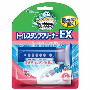 スクラビングバブル トイレスタンプクリーナーEX リフレッシュブーケ 本体 (38g)