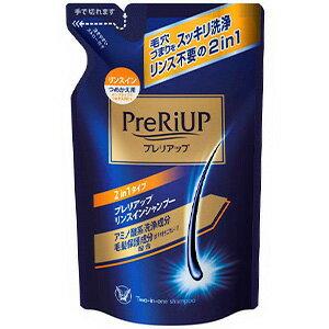 プレリアップ リンスインシャンプー つめかえ用 350ml【医薬部外品】