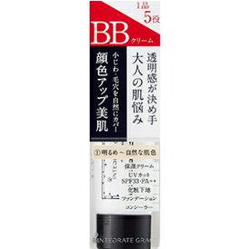 資生堂 インテグレート グレイシィ エッセンスベース BB 1 明るめ〜自然な肌色 (SPF33・PA++) 40g