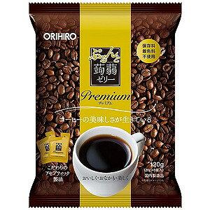 オリヒロ ぷるんと蒟蒻ゼリーパウチ プレミアム コーヒー(20g×6個)
