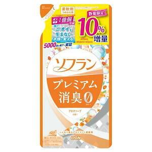 ソフラン プレミアム消臭 アロマソープの香り 詰替用 増量 495ml あす楽対応