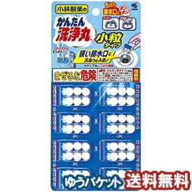 小林製薬 かんたん洗浄丸 小粒タイプ(6粒×8袋) メール便送料無料