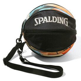 ボールバッグ US フラッグ 49-001FL | 正規品 SPALDING スポルディング バスケットボール バスケ バッグ ボールケース ボール バッグ 1個 メンズ レディース 男性 女性 ユニセックス 男女兼用 おしゃれ オシャレ