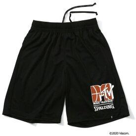 プラクティスパンツ MTV バスケットボール SMP200020   正規品 SPALDING スポルディング バスケットボール バスケ NBA ウェア 練習着 パンツ メンズ レディース 男性 女性 ユニセックス 男女兼用